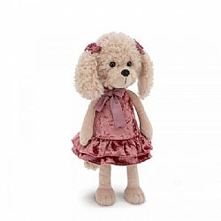 Λούτρινο Σκυλάκι Poodle Dolly Retro Party 44cm, Orange Toys