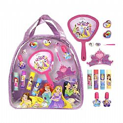 Σετ Μακιγιάζ Με Τσάντα Backpack Prinsess Beauty Bag Disney, Markwins