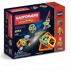 Magformers Αστροναύτης Space Wow Set 22 τεμ.