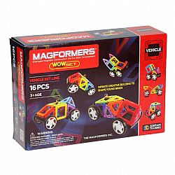 Magformers Όχημα Wow Set Vehicle Set Line 16 τεμ.